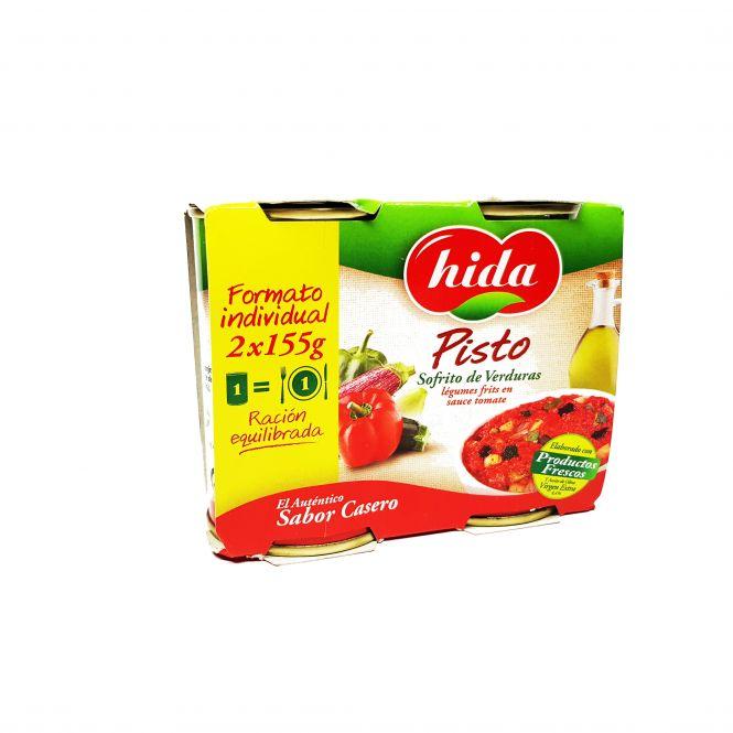 FRITADA PISTO PACK 2 LATAS 170 gr. HIDA