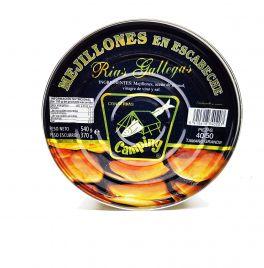 MEJILLON GRANDE EN ESCABECHE RIAS GALLEGAS 40/50 P. CAMPING