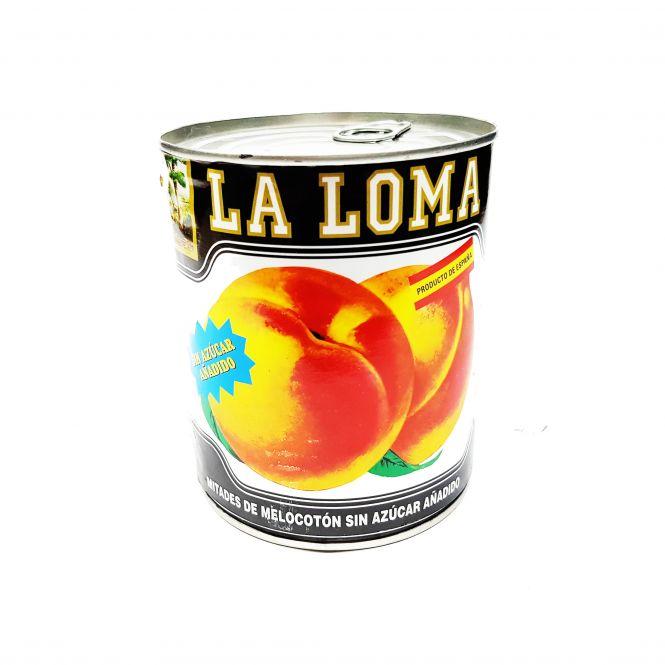 MELOCOTON SIN AZUCAR 1KG. 5/7F. LA LOMA