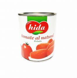 TOMATE NATURAL PELADO 1 KG. HIDA