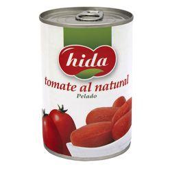 TOMATE NATURAL PELADO 1/2 KG. HIDA