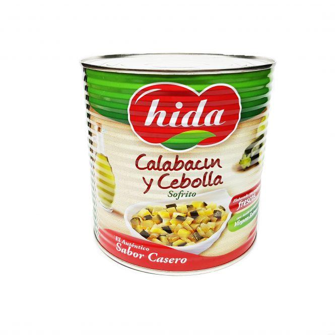 CALABACIN Y CEBOLLA SOFRITO 3KG. HIDA