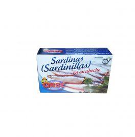 SARDINILLAS EN ESCABECHE 8/12P. 125G. ORBE