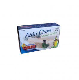 ATÚN CLARO EN ACEITE DE OLIVA 120G. ORBE