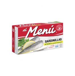 SARDINILLAS AL LIMON 90 GR. EL MENÚ