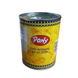 PIÑA EN SU JUGO 1KG. PONY