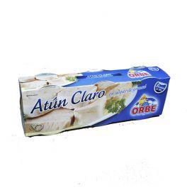 ATUN CLARO EN AC. DE GIRASOL PACK3 ORBE