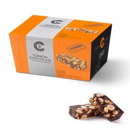 PORCIONES TURRON CHOCOLATE CON ALMENDRAS CASTILLO DE JIJONA 200G
