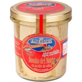 BONITO DEL NORTE EN ACEITE DE OLIVA DEL  PAÍS  250 ml. EMPERATRIZ