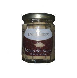 BONITO DEL NORTE EN ACEITE DE OLIVA DEL  PAÍS  230  g. EMPERATRIZ