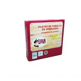 CABALLA D.O. ANDALUCIA EN ACEITE DE  GIRASOL 280 gr.  LOLA