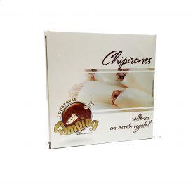 CHIPIRONES RELLENOS EN ACEITE VEGETAL  550 gr. CAMPING